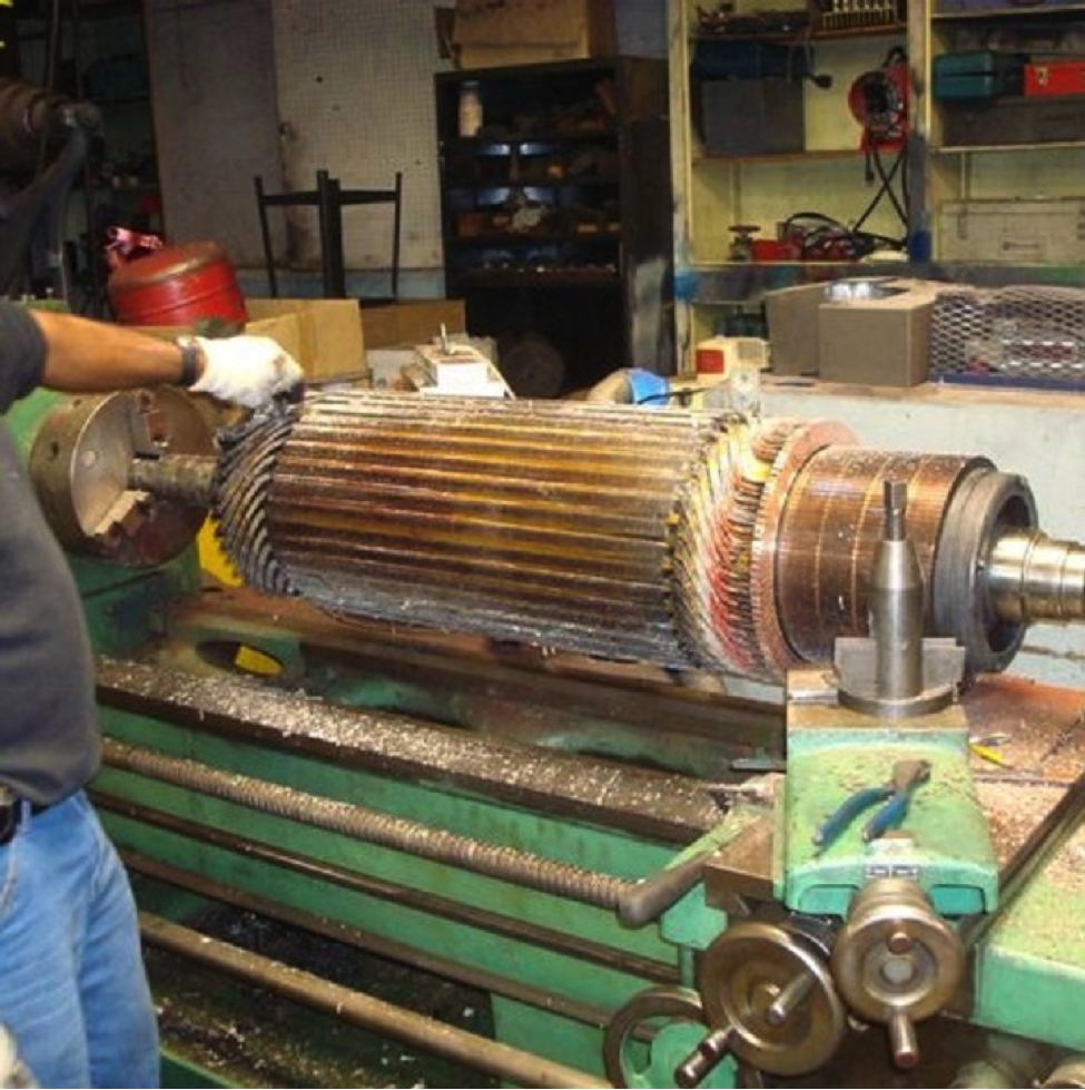 Motor repairs center island electric for Antique electric motor repair